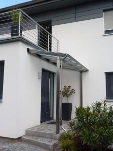 Hauseingangsvordächer