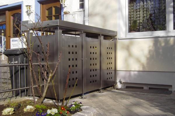 Mülltonnenhaus individuell angepasst!