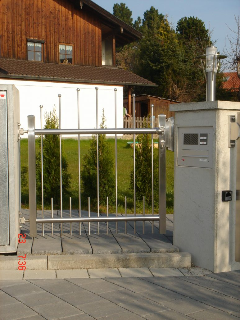 Gartenzäune und Tore | MMT-Inox GmbH