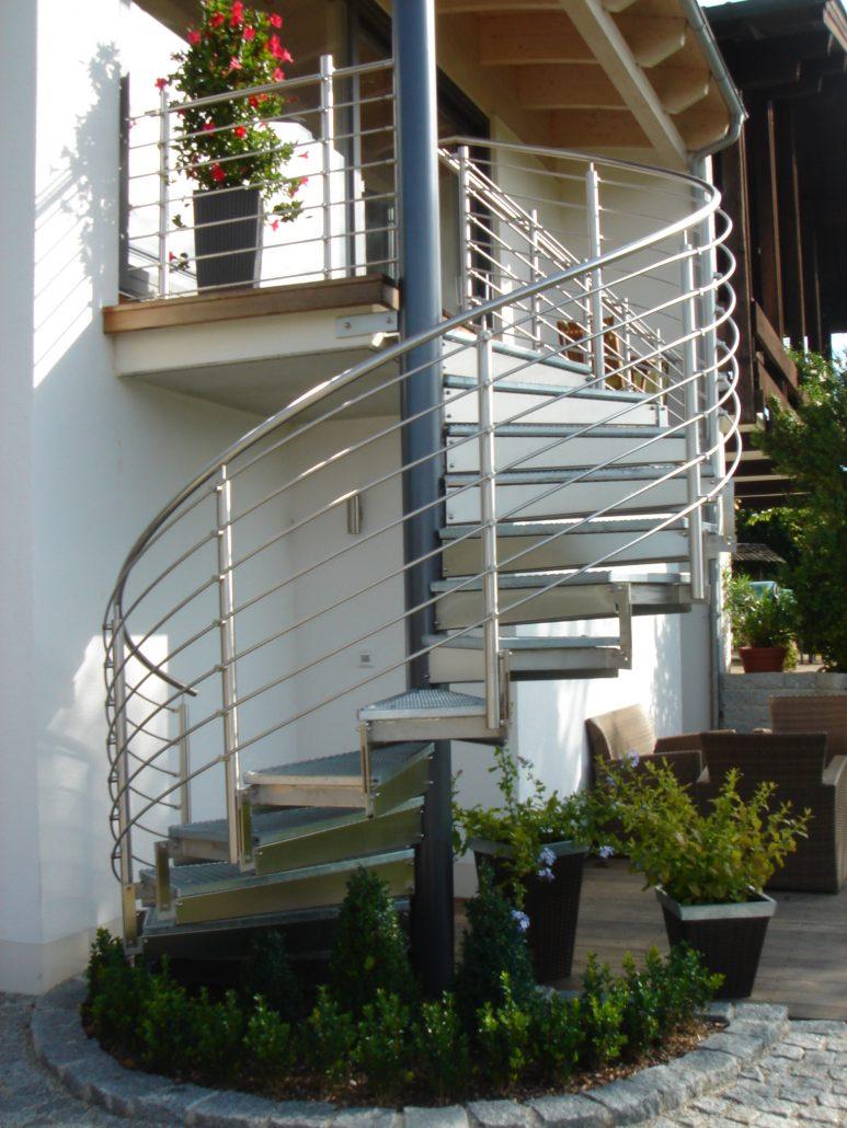 treppen f r au en mmt inox gmbh. Black Bedroom Furniture Sets. Home Design Ideas