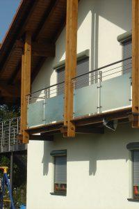 Turin zwischen den Holzbalken